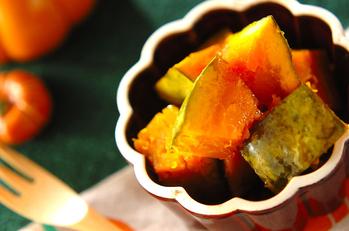 カボチャのメープル煮