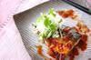 サバの梅風味照り焼きの作り方の手順