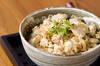 ほろほろ豆腐丼の作り方の手順