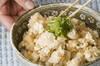 ほろほろ豆腐丼の作り方の手順2