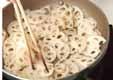 レンコンのきんぴらの作り方1