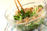 小松菜レンジ煮の作り方2