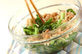 小松菜レンジ煮の作り方4