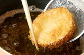 タケノコのエビはさみ揚げの作り方4