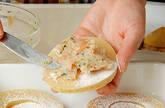 タケノコのエビはさみ揚げの作り方3