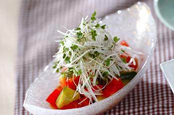 トマトの中華サラダ