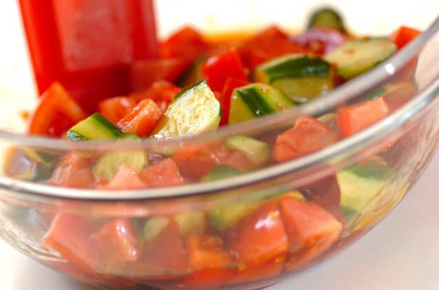 トマトの中華サラダの作り方の手順5