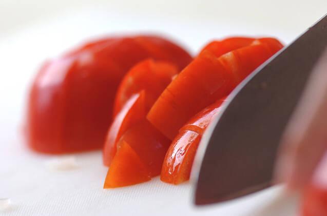 トマトの中華サラダの作り方の手順1