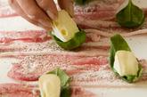 チーズの肉巻きフライの作り方1