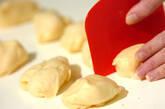 葉っぱ模様のメロンパンの作り方21