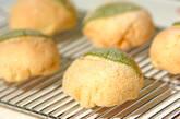 葉っぱ模様のメロンパンの作り方31