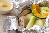 ほっくり野菜ホイル焼き