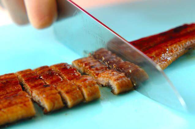 ウナギの炊き込みご飯の作り方の手順1