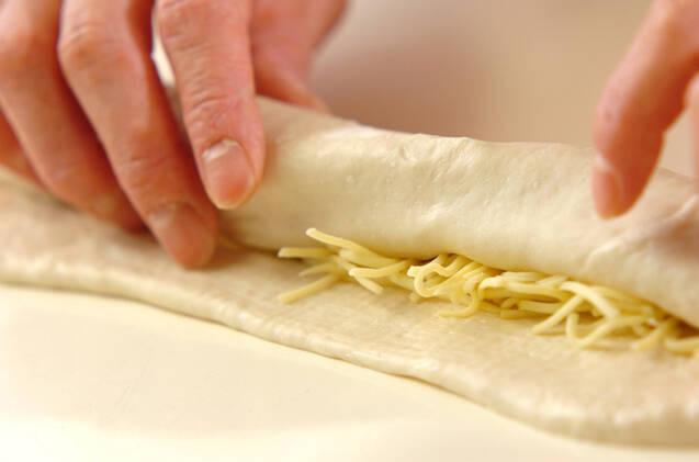 とろ~りチーズのベーコンエピの作り方の手順7
