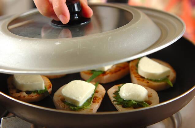 レンコンステーキの作り方の手順5