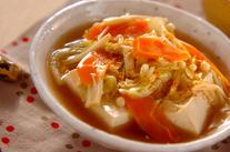 豆腐のたっぷり野菜あんかけ
