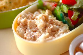 レンジ長芋のサラダ