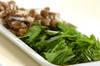 青菜のオイスター炒めの作り方の手順1