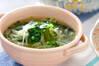 ジャガと玉ネギのスープの作り方の手順