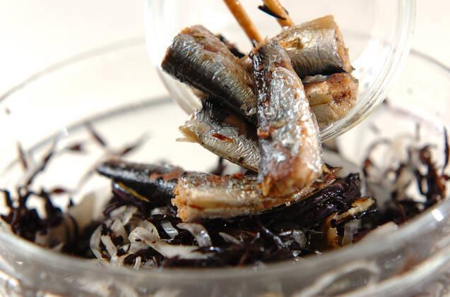 ヒジキとオイルサーディンのマリネの作り方の手順6