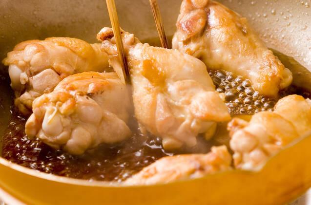 さっぱり食べやすい!手羽元の甘酢煮の作り方の手順3