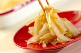 白菜のピリ辛甘酢炒めの作り方3