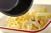白菜のピリ辛甘酢炒めの作り方2