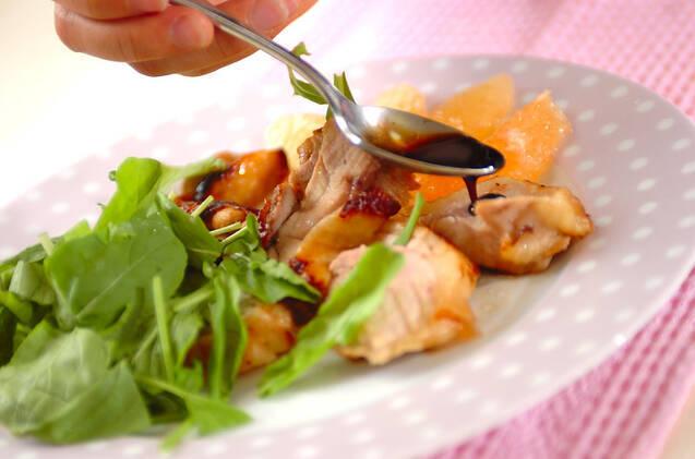 チキンソテー・グレープフルーツ添えの作り方の手順6