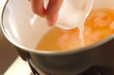 卵豆腐のエビあんかけの作り方4