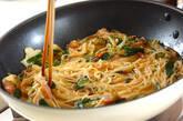 ゴーヤ素麺オムレツの作り方4