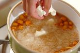豆腐とナメコのおろし汁の作り方2
