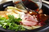 鶏肉のすき焼きの作り方14