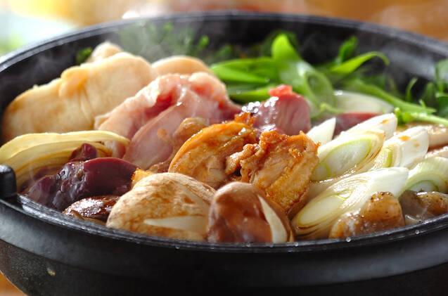 鶏肉とたっぷり野菜のすき焼き