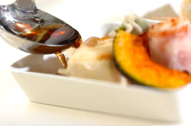 揚げ出し豆腐&モッツァレラの作り方の手順3