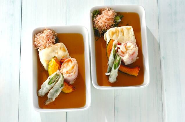 揚げ出し豆腐&モッツァレラ
