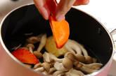 青菜と油揚げのサッと煮の作り方5