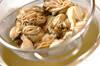 カキとホウレン草のグラタンの作り方の手順1