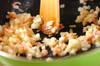 カキとホウレン草のグラタンの作り方の手順3