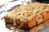 納豆と長芋のトロトロトーストの作り方3