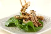 イカのガーリックマヨ炒めの作り方2