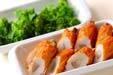 ゴボ天と菜の花の煮物の作り方の手順1