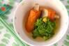 ゴボ天と菜の花の煮物の作り方の手順
