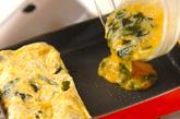 おジャコ入り卵焼きの作り方4