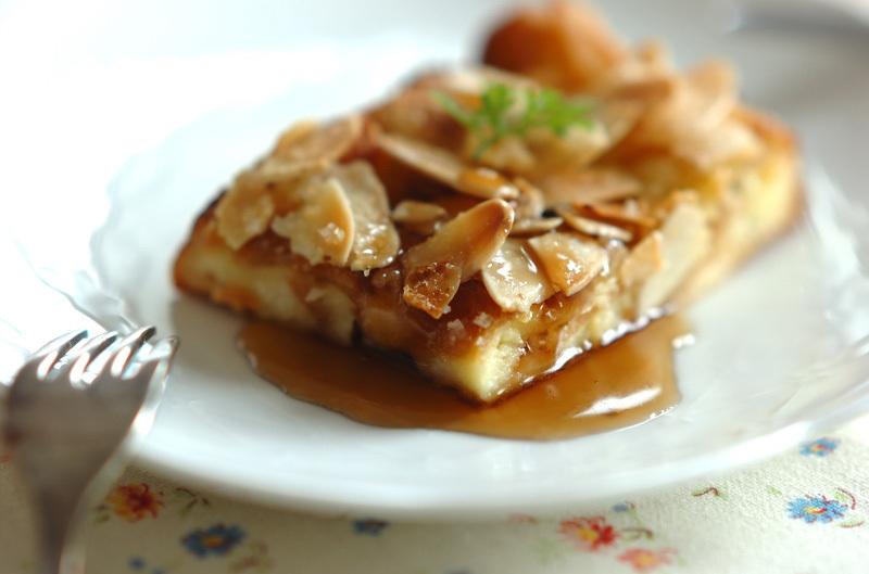 パン耳でオーブンフレンチトースト
