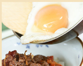 ピリ辛しぐれ煮丼の作り方3