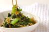 カブの葉の炒め物の作り方の手順5