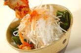 ワカメと大根サラダ キムチドレッシングの作り方3