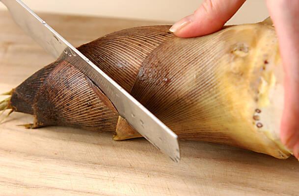 筍ご飯の作り方の手順2