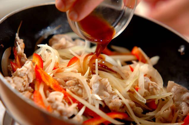 ポークオニオン炒めの作り方の手順3