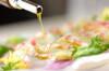 昆布〆鯛のカルパッチョの作り方の手順8